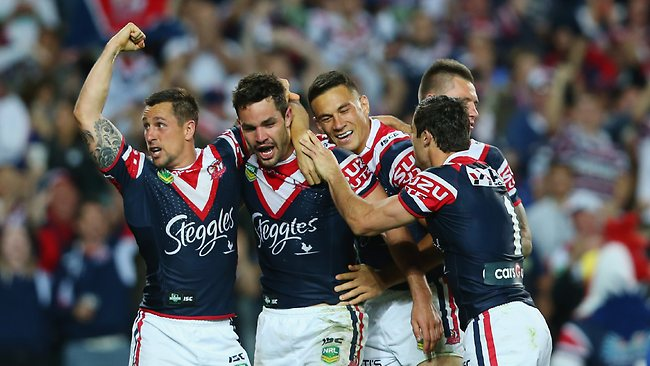 Roosters at home