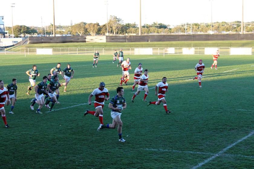 Uni footy: Sunshine Coast v Nambour at 1300SMILES