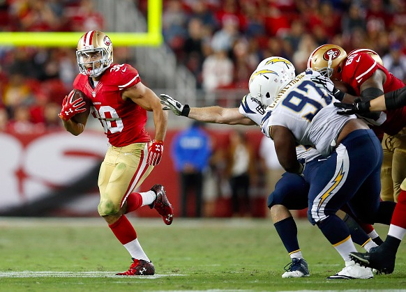 Debut: San Francisco 49ers v San Diego Chargers